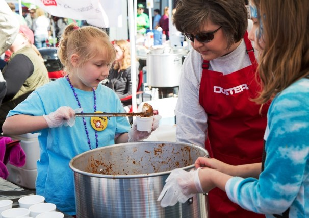 The Northwestern Mutual Chili Cook-off benefits the Exceptional Foundation. (Lawrence Elizabeth Knox/The Exceptional Foundation)