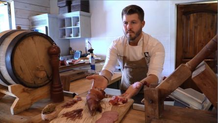 David Bancroft of Acre restaurant in Auburn made the semifinals for Best Chef in the South. (Brittany Faush-Johnson / Alabama NewsCenter)