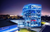 The car vending machine at the Carvana Austin location. (Carvana)