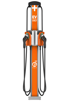Several major auto companies are investing in ChargePoint to make electric auto charging stations much more common across Europe. (ChargePoint)