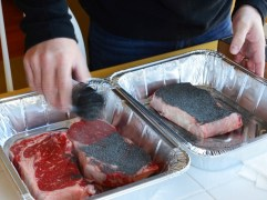 Unlike other seasonings, Mis' Rubin's Black Magic is meant to be used liberally. (Michael Tomberlin / Alabama NewsCenter)