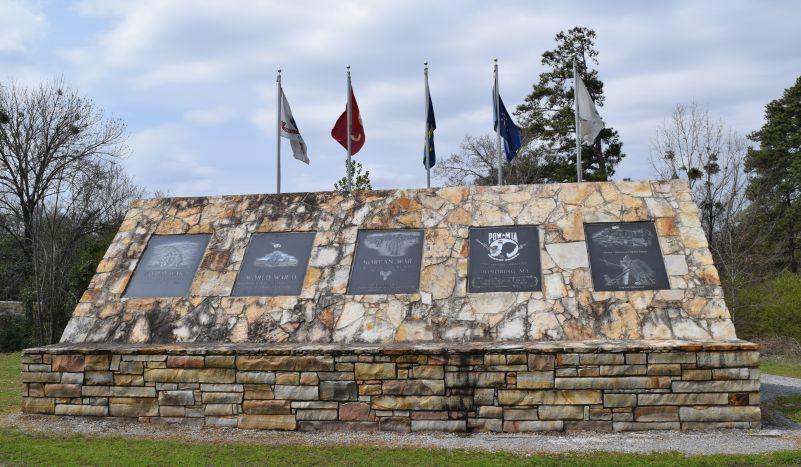 Etowah County's War Memorial. (Donna Cope / Alabama NewsCenter)