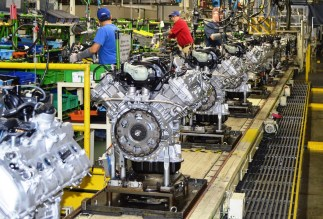 Employees at Toyota Motor Manufacturing Alabama turned out 702,000 engines last year. (Toyota)