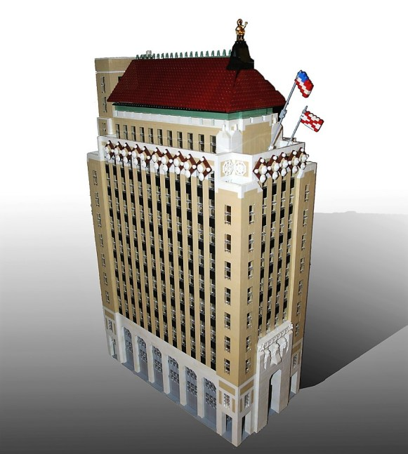 Alabama Power's Corporate Headquarters, in miniature. (Wesley Higgins)
