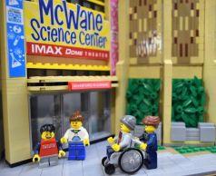 The display is Lego extraordinaire. (Wesley Higgins)