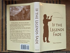 """""""If the Legends Fade"""" is the book Tom Hendrix wrote about Te-lah-nay's story. (Anne Kristoff / Alabama NewsCenter)"""