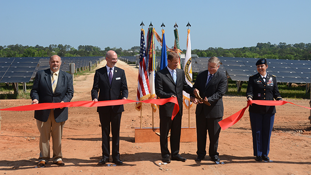 Alabama Power Army solar projects generating power at Fort Rucker, Anniston depot