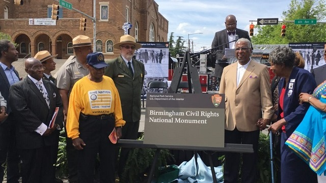 Birmingham celebrates its place in history with Civil Rights National Monument dedication ceremony