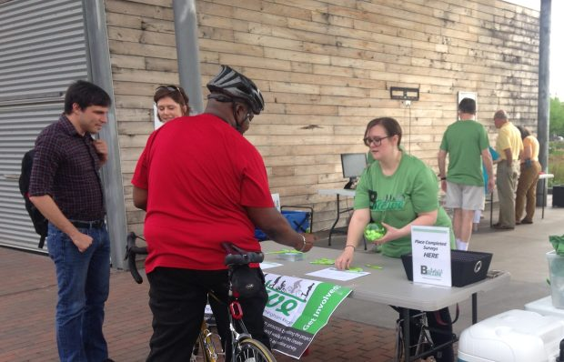 The Regional Planning Commission of Greater Birmingham is in the eraly stages of devising B Active, a regional pedestrian and bicycle master plan. (Michael Sznajderman / Alabama NewsCenter)