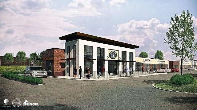 Starbucks, restaurants to open in Birmingham's CrossPlex Village this year