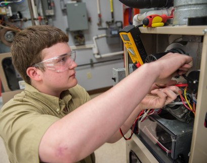 Alabama Power is partnering with Bevill State Community College for a new HVAC Training Center. (Wynter Byrd / Alabama NewsCenter)