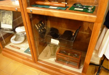 The Mobile Medical Museum shows the fascinating evolution of medicine over the past two centuries. (Michael Tomberlin/Alabama NewsCenter)