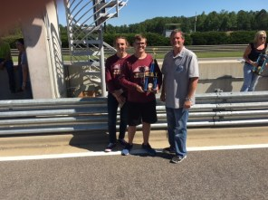 Middleton High School, Tampa, Florida, Second Place, High School Class. 26 laps in two one-hour races. (Alabama NewsCenter)