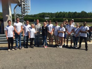 Hewitt-Trussville High School, Third Place, High School Class, 24 laps in two one-hour races. (Alabama NewsCenter)