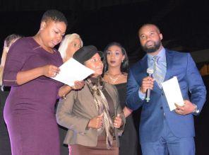 Summit media radio personality Shelia Smoot at the Fusion awards. (Brittany Faush-Johnson/Alabama NewsCenter)