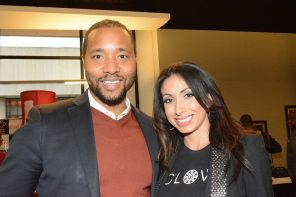 Rev Business Director Deon Gordon at the Fusion awards. (Brittany Faush-Johnson/Alabama NewsCenter)