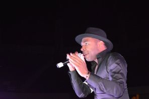 R& B singer Major performed at the awards ceremony. (Brittany Faush-Johnson/Alabama NewsCenter)
