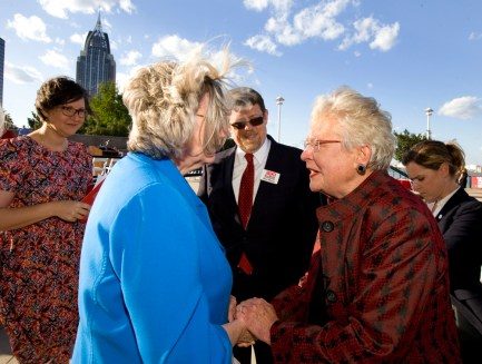 The Alabama Bicentennial three-year celebration had its formal kickoff in Mobile May 5. (Keith Necaise)