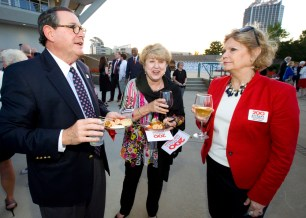 Political, business and community leaders turned out for the Alabama Bicentennial kickoff. (Keth Necaise)