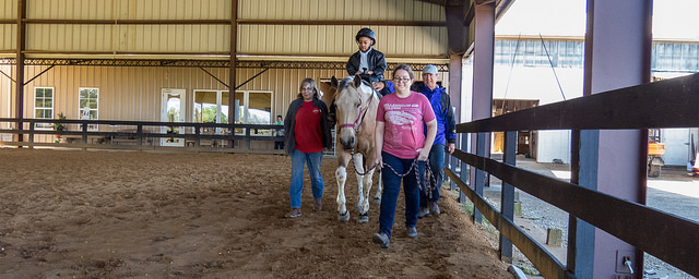 MANE, an equine therapy program based in Montgomery, helps children and adults with physical or emotional needs build both muscle and self-confidence. (Contributed)