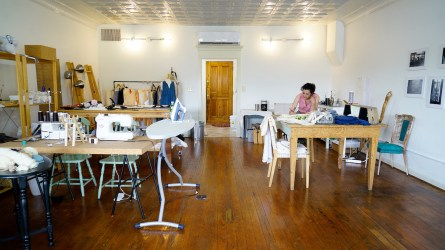 Nadene Mairesse's life of art and creativity led her to start Idyllwilde. (Mark Sandlin / Alabama NewsCenter)