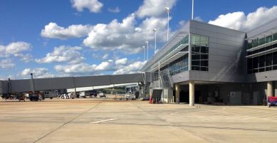 Recycled items were used when possible for the renovation of the Birmingham Shuttlesworth International Airport. (contributed)
