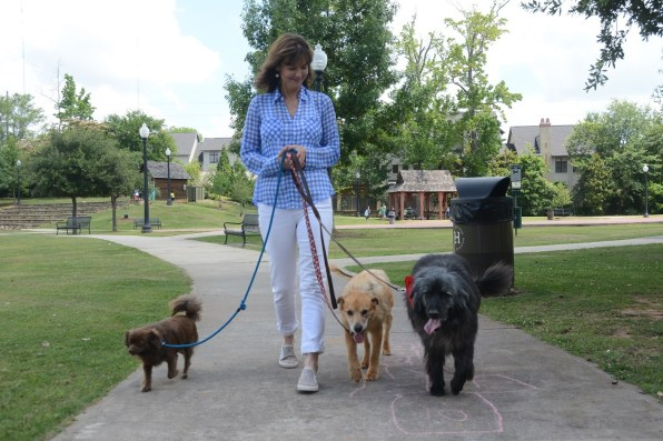 Sonya King's love for animals, and the number of homeless animals she saw in her community, led to the founding of Two by Two Rescue. (Karim Shamsi-Basha/Alabama NewsCenter)