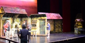 """Red Mountain Theater Company presents """"Fiddler on the Roof"""" at the Dorothy Jemison Day Theater in Birmingham, directed by Keith Cromwell, June 9-25. (Michael Tomberlin / Alabama NewsCenter)"""