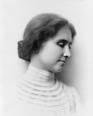 Portrait of Helen Keller, c. 1904. (Library of Congress Prints and Photographs Division)