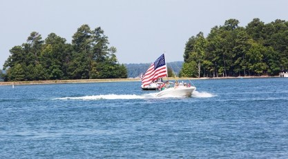 Boating on one of Alabama's lakes is a great way to spend the Fourth, but only if everybody stays safe. (File)