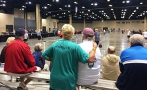 More than 10,000 athletes ages 50 and older are in Birmingham for the 2017 National Senior Games. (Nicole Hedrick/Alabama NewsCenter)