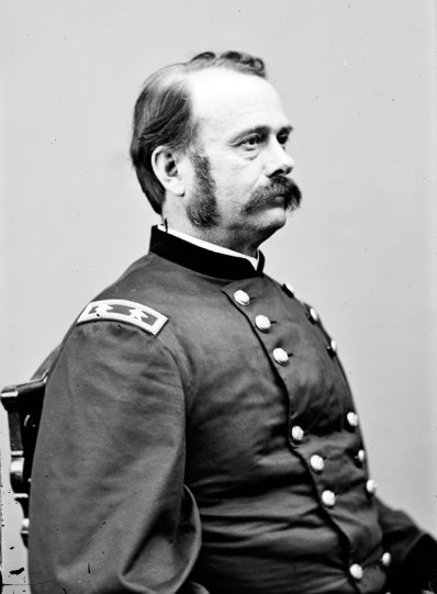 Portrait of Maj. Gen. Lovell H. Rousseau, officer of the Federal Army, c. 1860-1869. (Compiled by Hirst D. Milhollen and Donald H. Mugridge, Library of Congress Prints and Photographs Division)