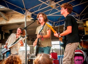 Riverbend performs at SlossFest. (Billy Brown / Alabama NewsCenter)