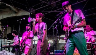 Nowhere Squares performs at SlossFest. (Billy Brown / Alabama NewsCenter)