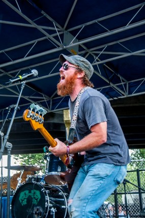 Vulture Whale performs at SlossFest. (Billy Brown / Alabama NewsCenter)