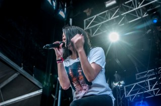 K. Flay performs at SlossFest. (Billy Brown / Alabama NewsCenter)