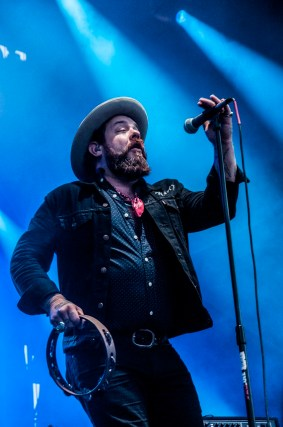 Nathaniel Rateliff and the Night Sweats performs at SlossFest. (Billy Brown / Alabama NewsCenter)