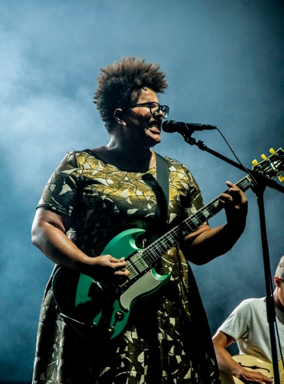 Alabama Shakes performs at SlossFest. (Billy Brown / Alabama NewsCenter)