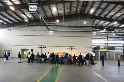 The new HVAC Training Center at Bevill State Community College. (Karim Shamsi-Basha / Alabama NewsCenter)
