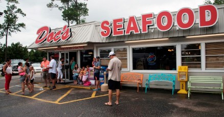 Doc's Seafood has built a loyal following of locals and repeat visitors on annual beach trips. (Brittany Faush-Johnson/Alabama NewsCenter)