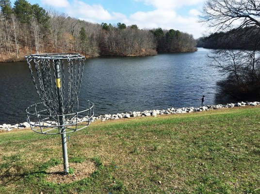 """Cooperation among businesses, government agencies and educational institutions turned an area known as """"the watershed"""" into an attraction called Cahulga Creek Park. (Brittany Faush-Johnson/Alabama NewsCenter)"""