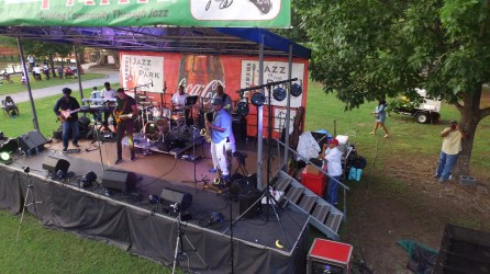 Jazz in the Park 2017. (Contributed)