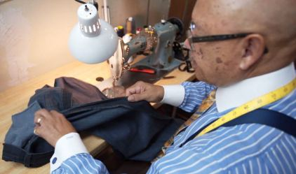 Robert Hill Custom Tailors wants to keep Birmingham classically clothed. (Chad Allen / Alabama NewsCenter)