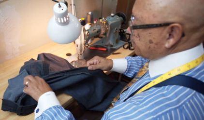 Robert Hill Custom Tailors wants to keep Birmingham classically clothed. (Chad Allen / Alabama NewsCenter)