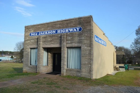 It can be hard to believe so much great music came out of this little building, the original home of Muscle Shoals Sound Studios. (Anne Kristoff/Alabama NewsCenter)