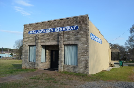 The original home of the Muscle Shoals Sound Studios. (Anne Kristoff/Alabama NewsCenter)