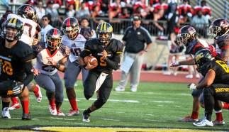 Panthers quarterback Kerrigan Pennington returns this year. (Mathea Kelley / BSC Athletics)