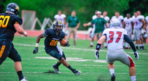 BSC defensive back Justin Woolfolk is a playmaker for the Panthers on defense. (Mathea Kelley / BSC Athletics)