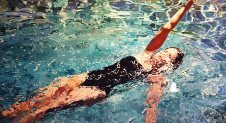 "Jeannie Maddox's ""Swimmer"" series made her a worldwide name. (Mark Sandlin / Alabama NewsCenter)"