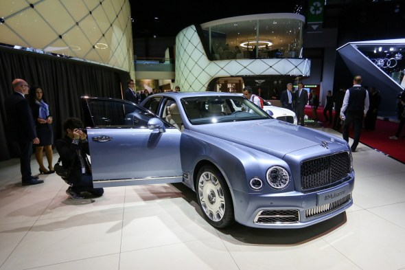Bentley cars have become a mainstay in popular music. (Chris Ratcliffe/Bloomberg